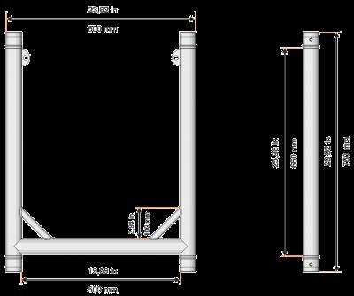 U-FRAME50-Dimension
